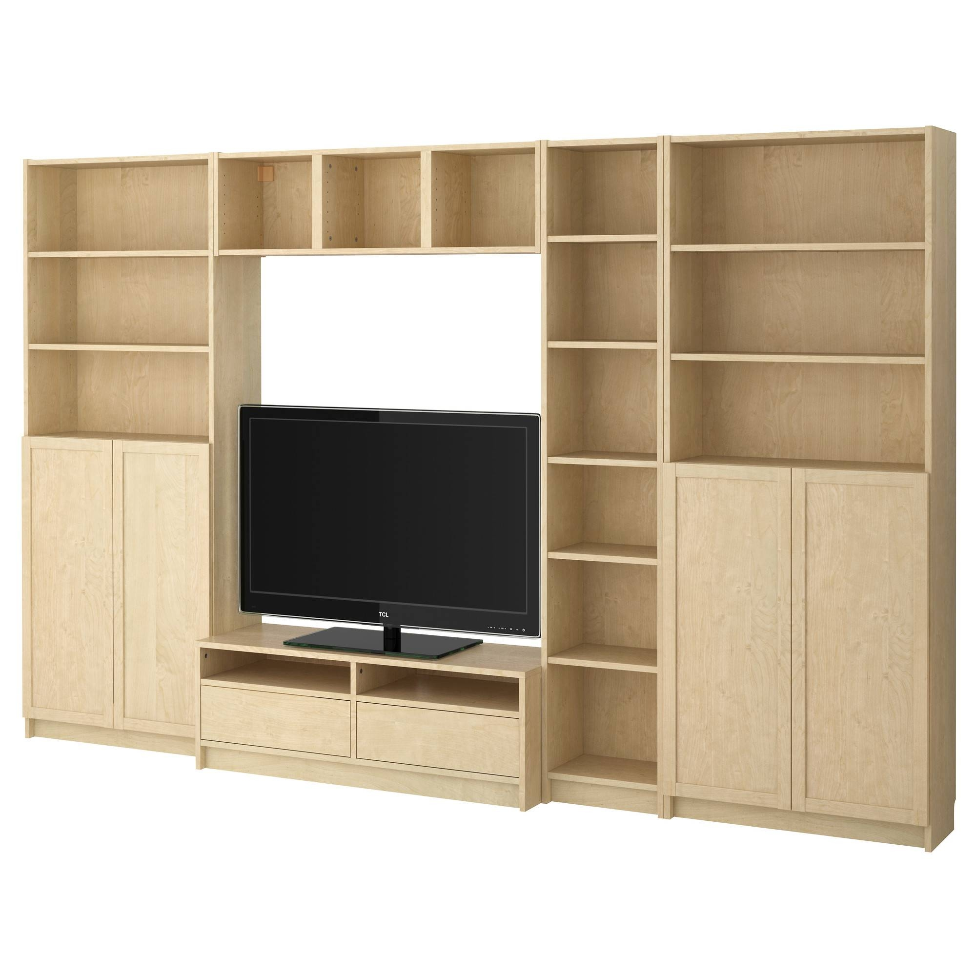 Furniture: Besta Tv Stand | Entertainment Centers Ikea | Tv Stands Within Birch Tv Stands (View 3 of 15)