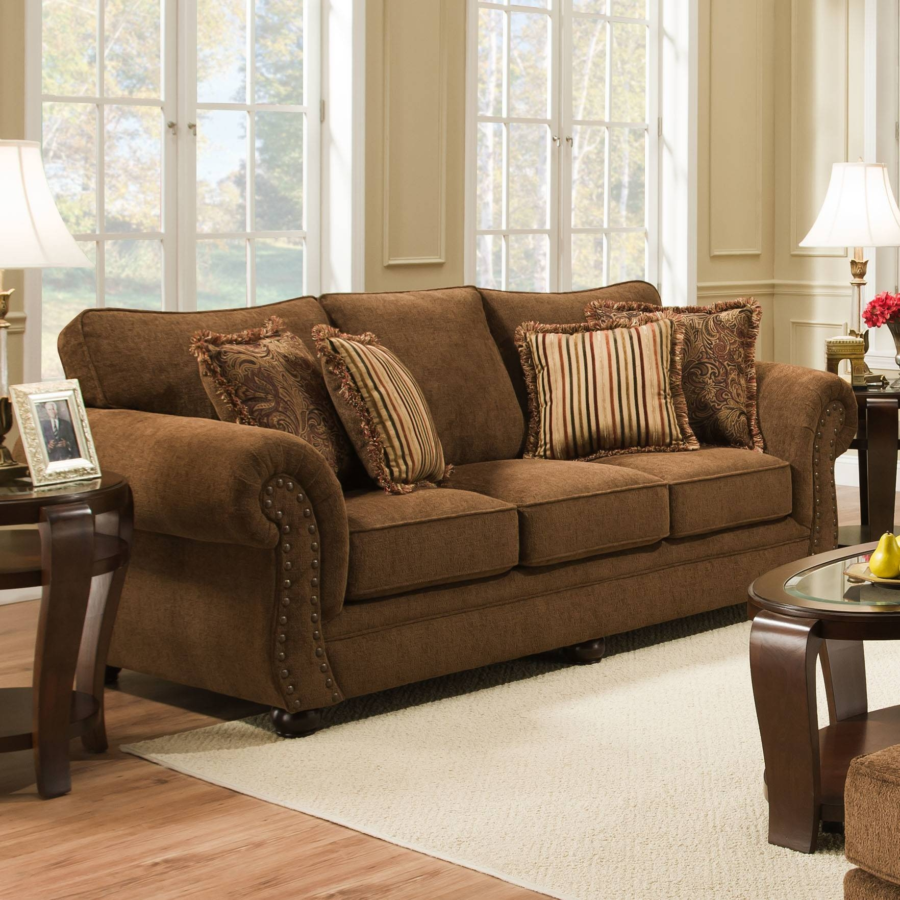 Furniture: Brings Big Comfort To Your Home With Simmons Couch in Big Lots Simmons Furniture (Image 2 of 15)