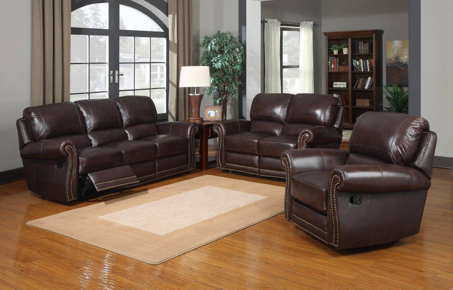 Furniture: Brown Benchcraft Furniture Sofa Decor With Glass And regarding Berkline Leather Sofas (Image 11 of 15)