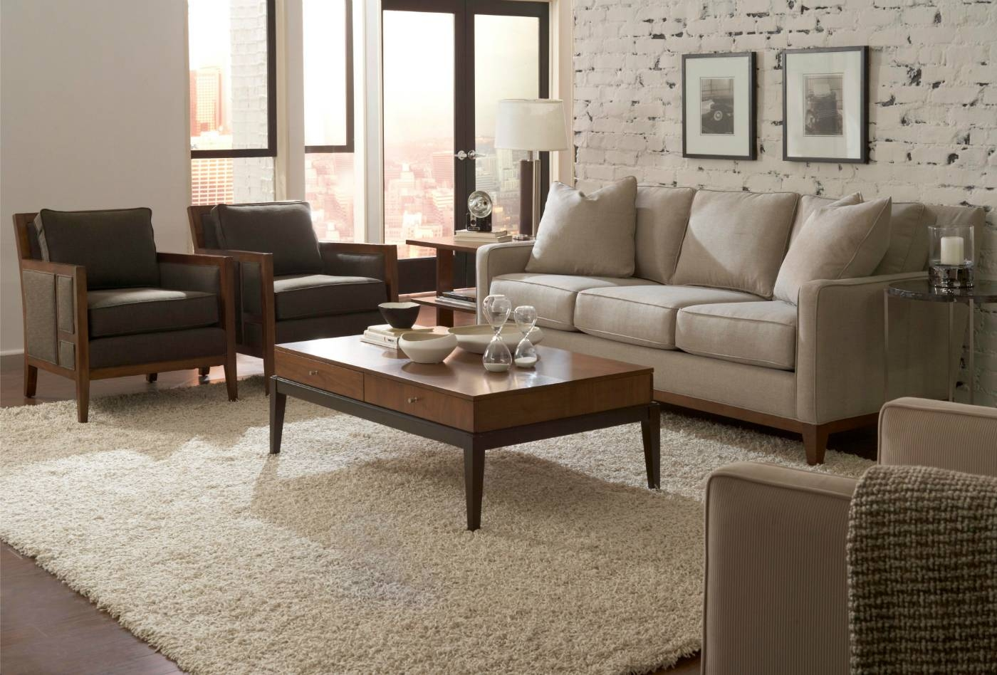 Furniture: Broyhill Leather Sofa | Broyhill Sofas | Broyhill Ava Sofa with Broyhill Mckinney Sofas (Image 9 of 15)
