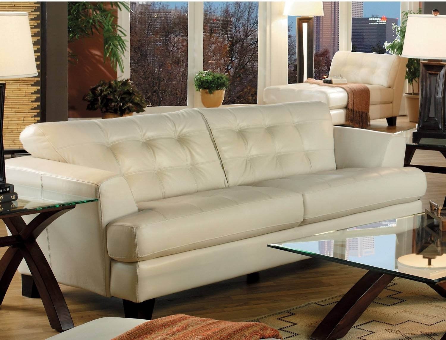 Furniture: Cindy Crawford Sectional Sofa For Elegant Living Room pertaining to Cindy Crawford Microfiber Sofas (Image 11 of 15)