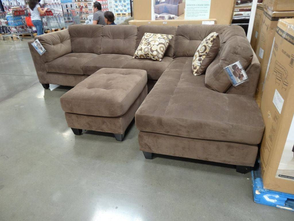 Furniture: Comfortable Living Room Sofas Design With Cool Costco throughout Costco Leather Sectional Sofas (Image 1 of 15)