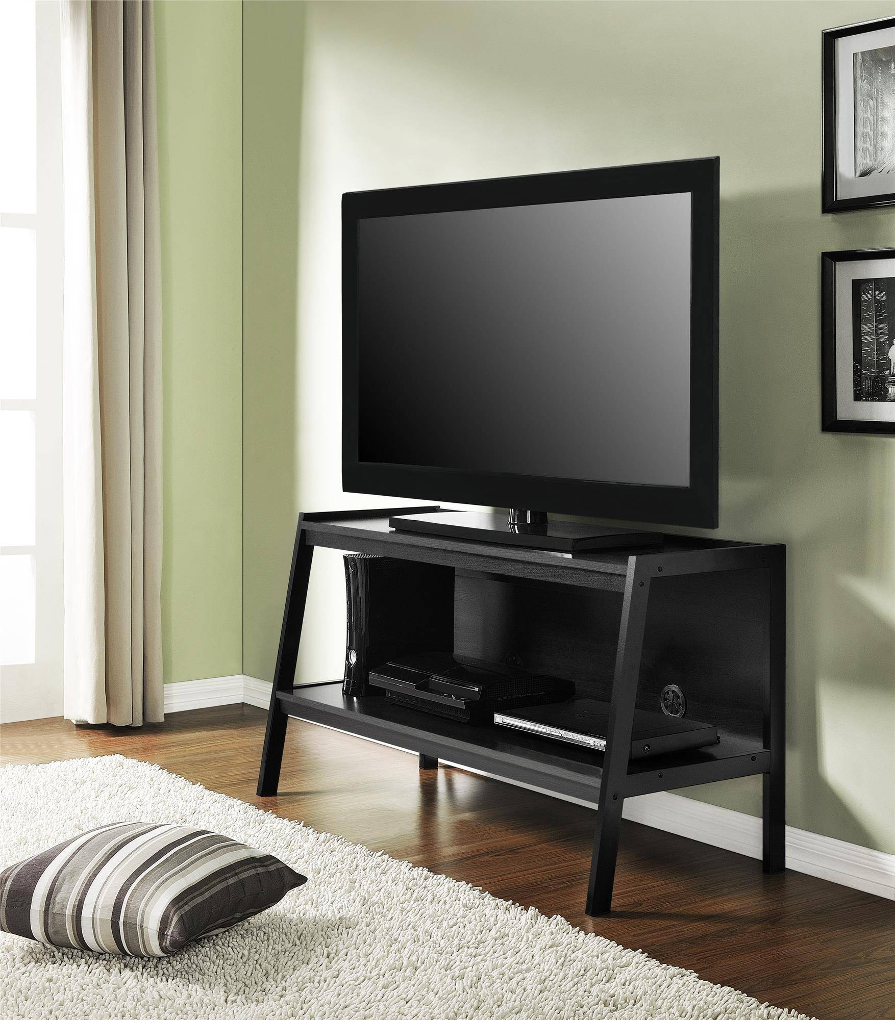 Furniture: Cymax Tv Stands | Lowes Tv Stands | Corner Tv Stand 47 regarding 24 Inch Corner Tv Stands (Image 4 of 15)