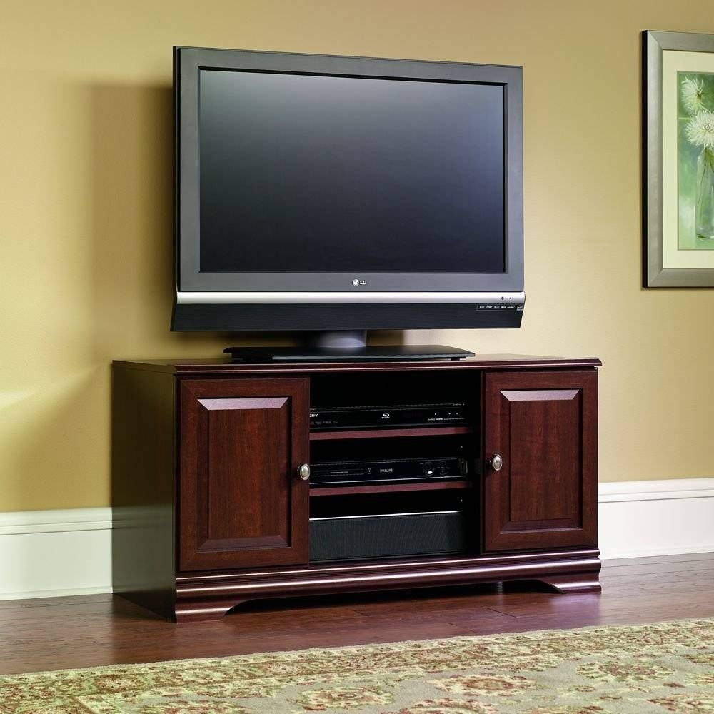 Furniture: Cymax Tv Stands | Lowes Tv Stands | Corner Tv Stand 47 Regarding Cherry Wood Tv Stands (View 11 of 15)