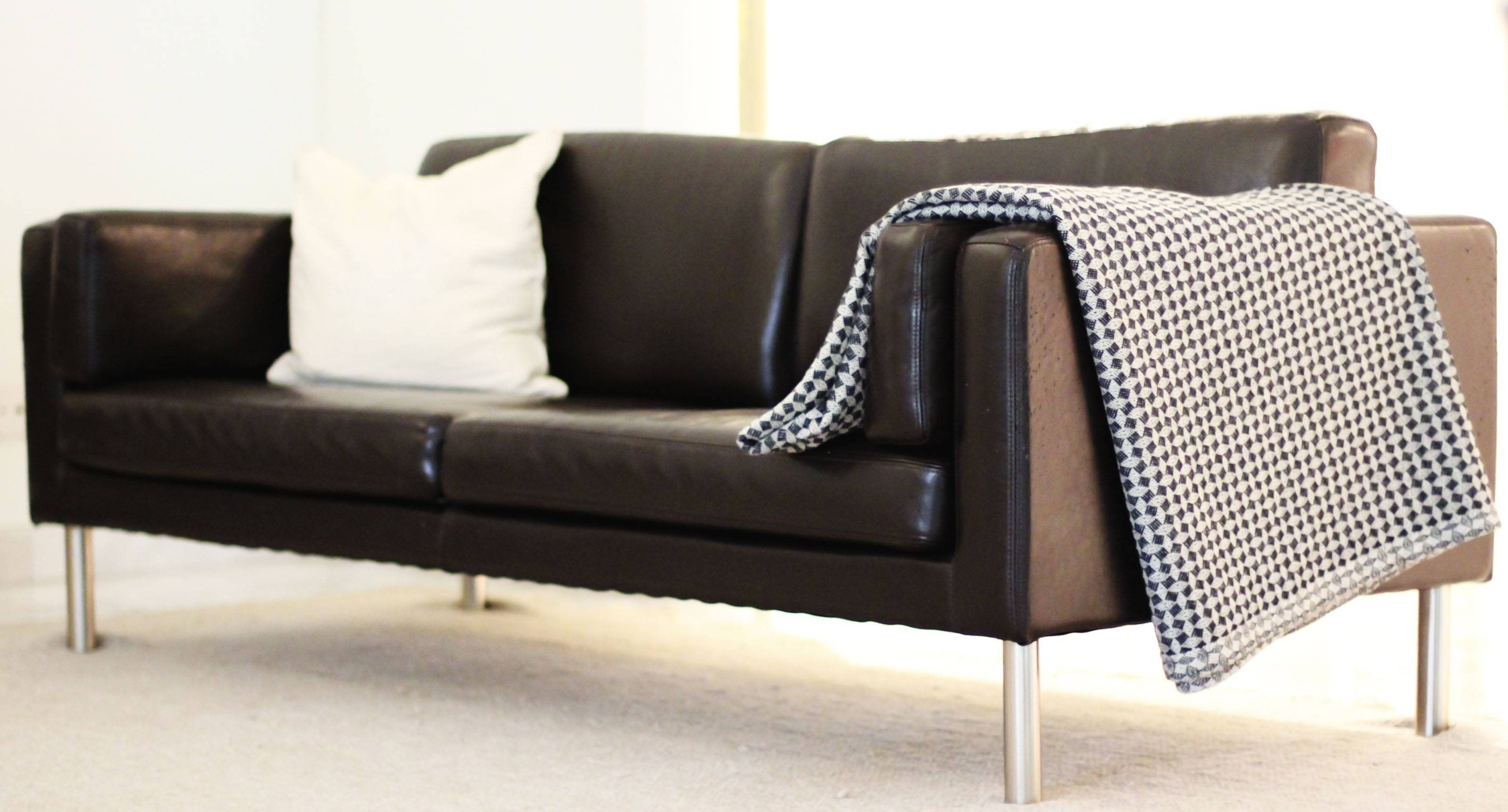 Furniture Enamour Ikea Leather Sofa Ideas Metal Chrome Legs Love for Sofas With Chrome Legs (Image 8 of 15)