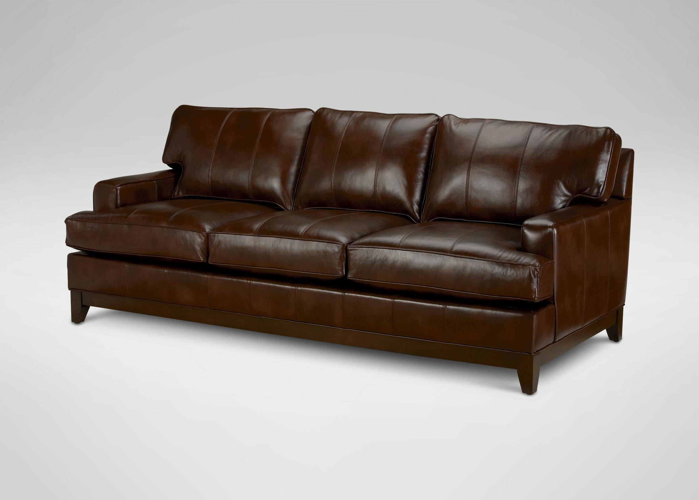 Furniture: Ethan Allen Leather Furniture For Excellent Living Room regarding Ethan Allen Chesterfield Sofas (Image 8 of 15)