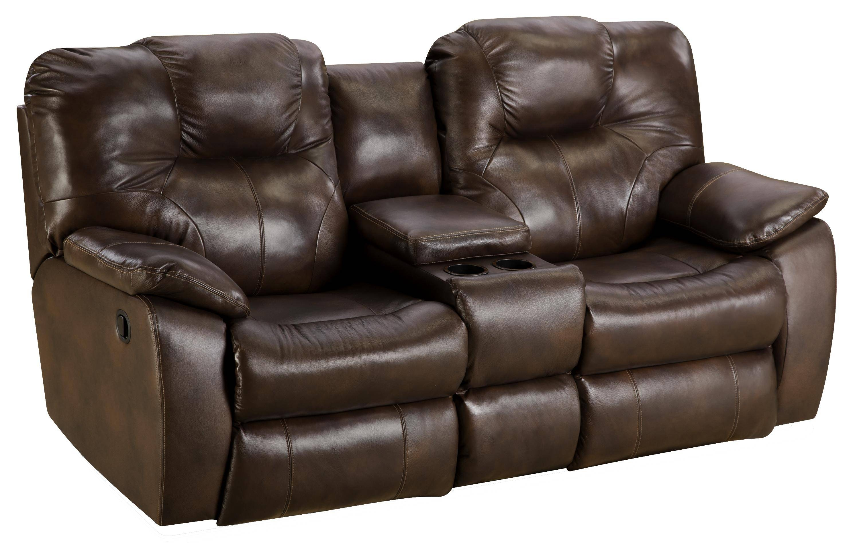 Furniture: Find Your Maximum Comfort With Power Recliner Sofa For Sofas With Console (View 6 of 15)