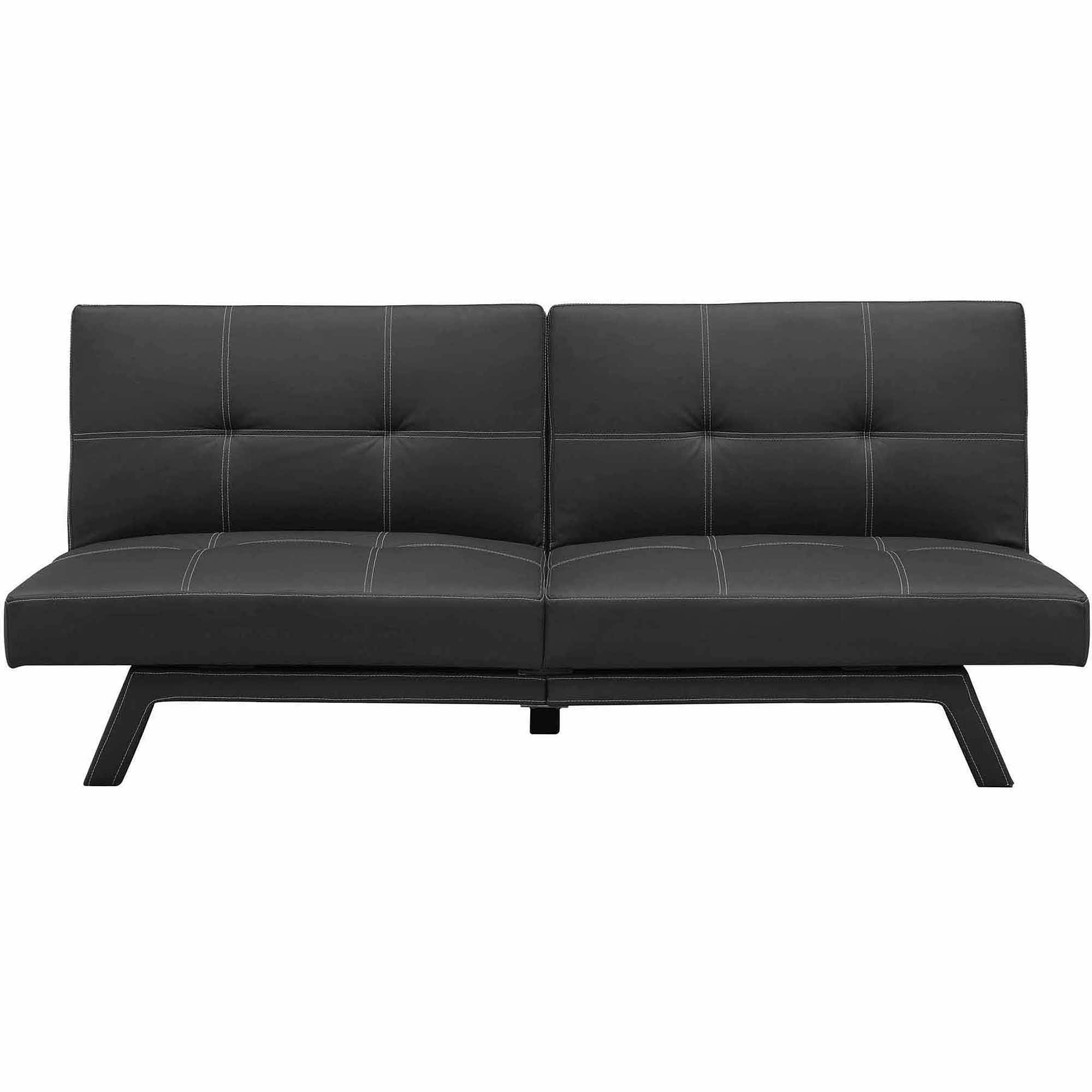 Furniture: Futon Kmart For Easily Convert To A Bed — Iahrapd2016 within Leather Fouton Sofas (Image 6 of 15)