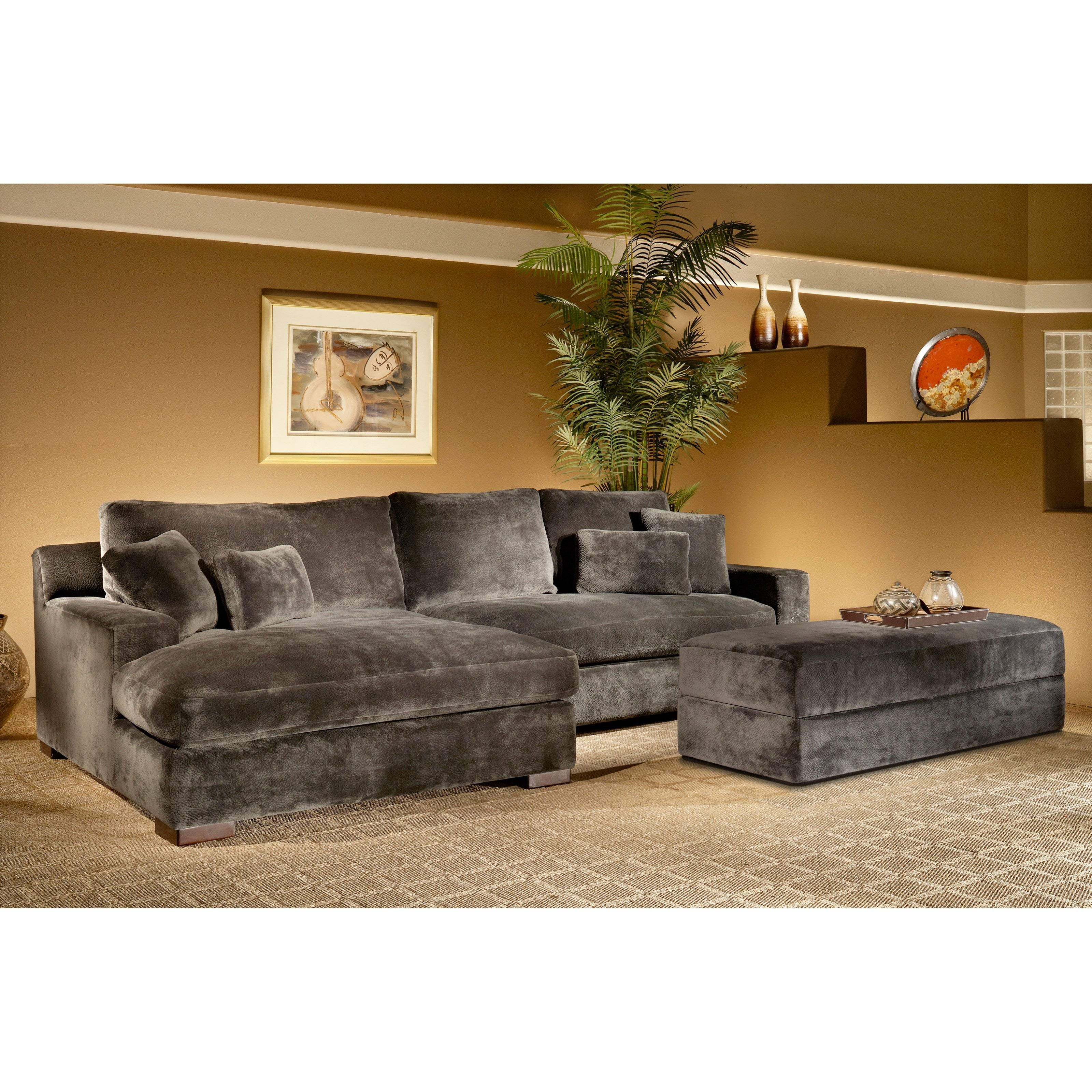 Furniture: High Quality Couch Sectional Design For Contemporary In Cindy Crawford Microfiber Sofas (Photo 13 of 15)