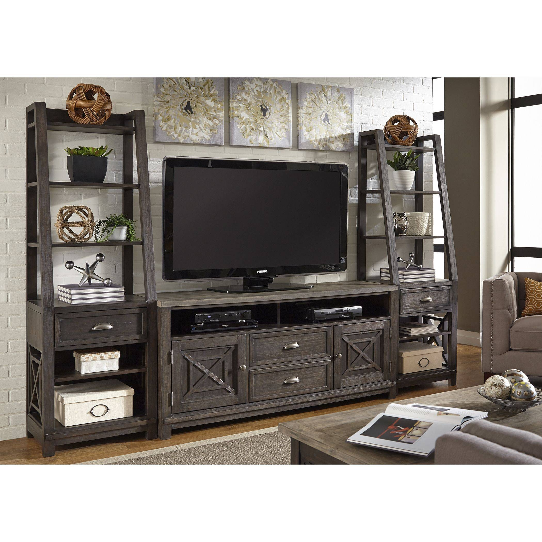 inch piece have the a bookcase bookcases weathered set tv myra pin with stand