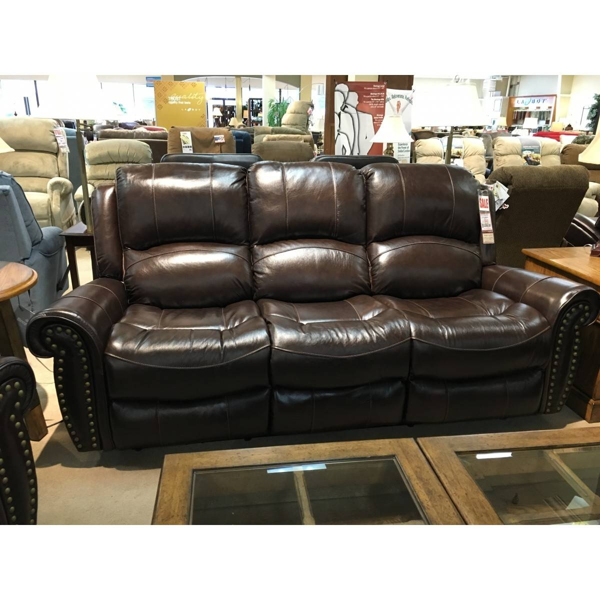 Furniture Italian Leather Power Reclining Sofa with Cheers Sofas (Image 11 of 15)