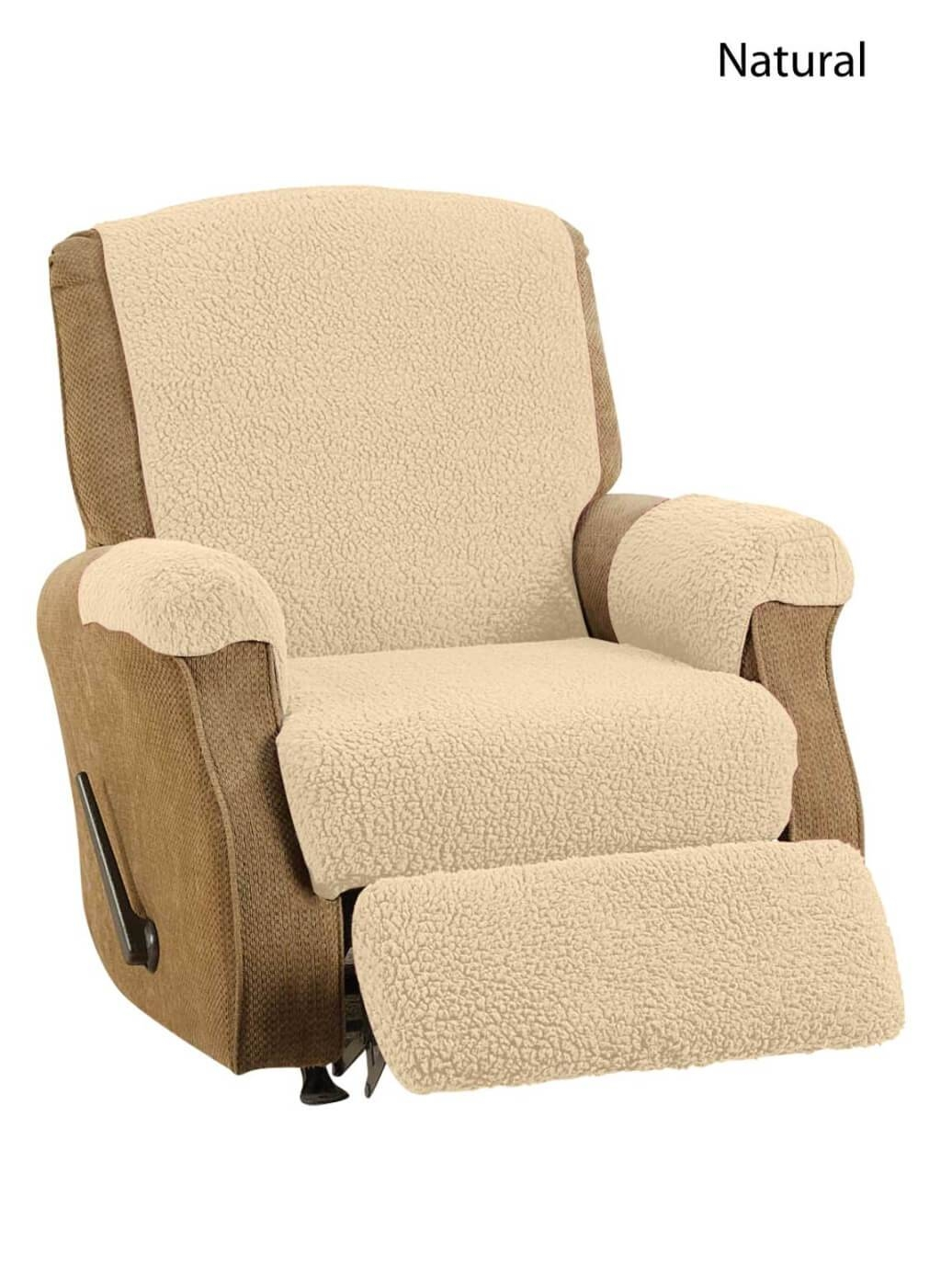 Furniture: Lavish Lazy Boy Recliner Covers For Pretty Recliner intended for Slipcover for Reclining Sofas (Image 3 of 15)