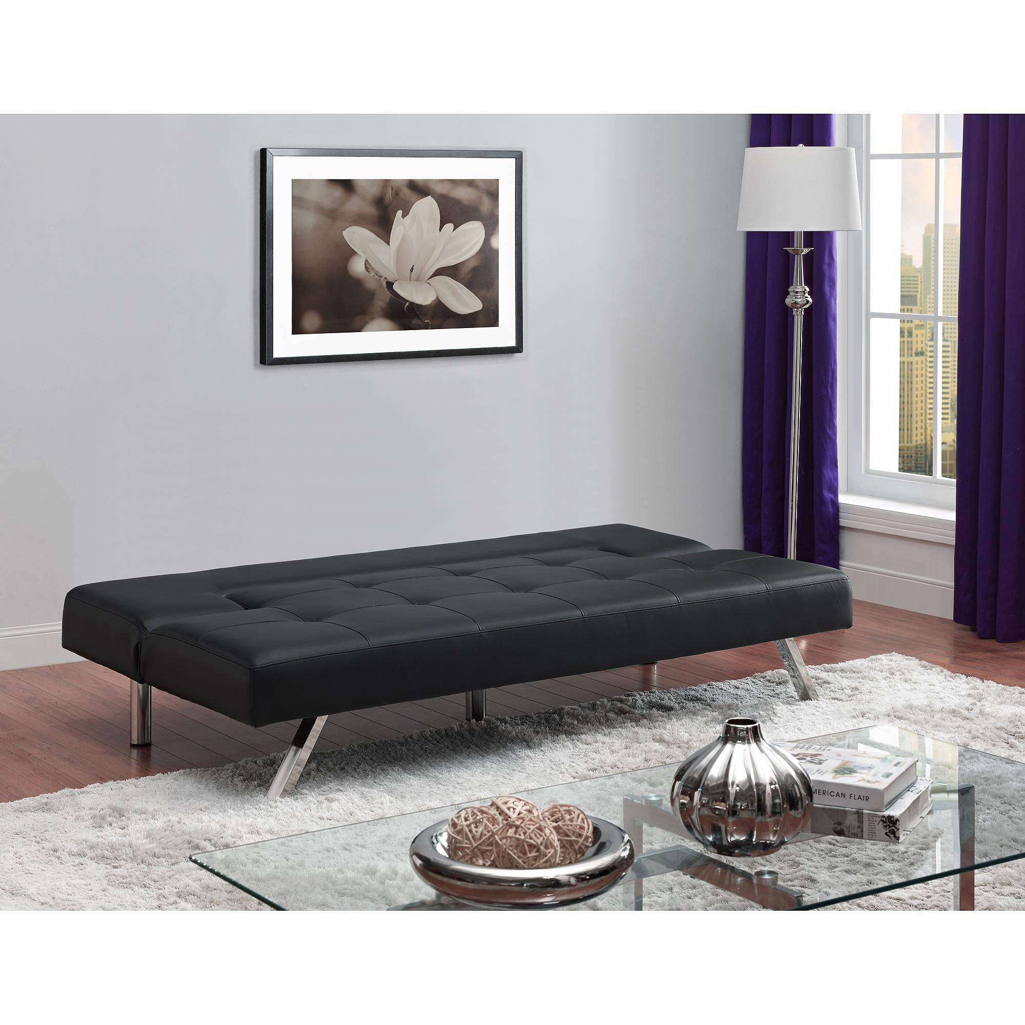 Furniture: Leather Futon Walmart | Futons At Kmart | Futon Full Size intended for Kmart Futon Beds (Image 7 of 15)