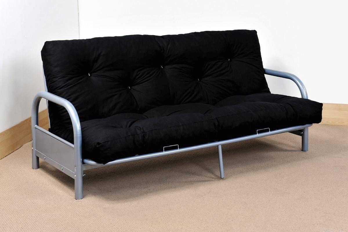 Furniture: Mainstays Futon | Futon Beds Walmart | Leather Futon with Leather Fouton Sofas (Image 7 of 15)