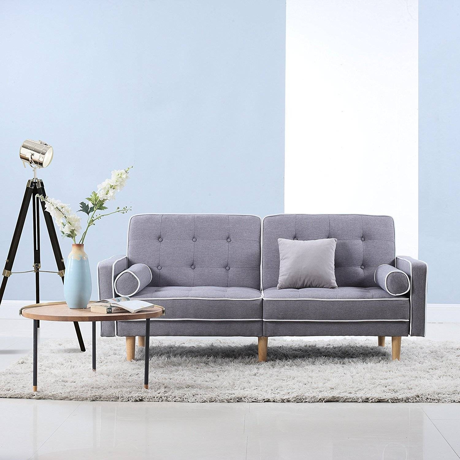 Furniture: Modern Tufted Sofa For Extra Aesthetic Appeal — Emdca for Seafoam Green Couches (Image 8 of 15)