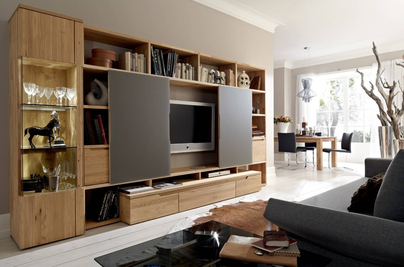 Furniture: Modern Wall Unit Design Ideas Modern Entertainment Unit Within Tv Entertainment Units (View 12 of 15)