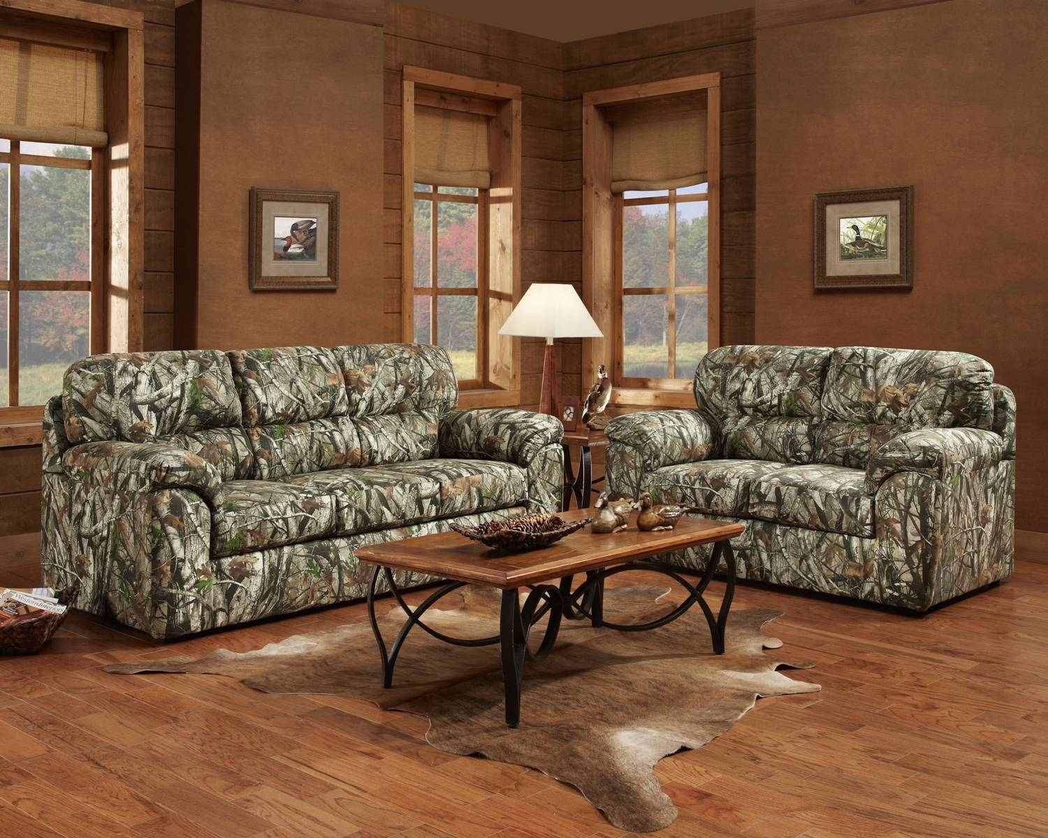 Furniture: Mossy Oak Recliner | Camo Sofas | Pink Camo Furniture within Camouflage Sofas (Image 10 of 15)