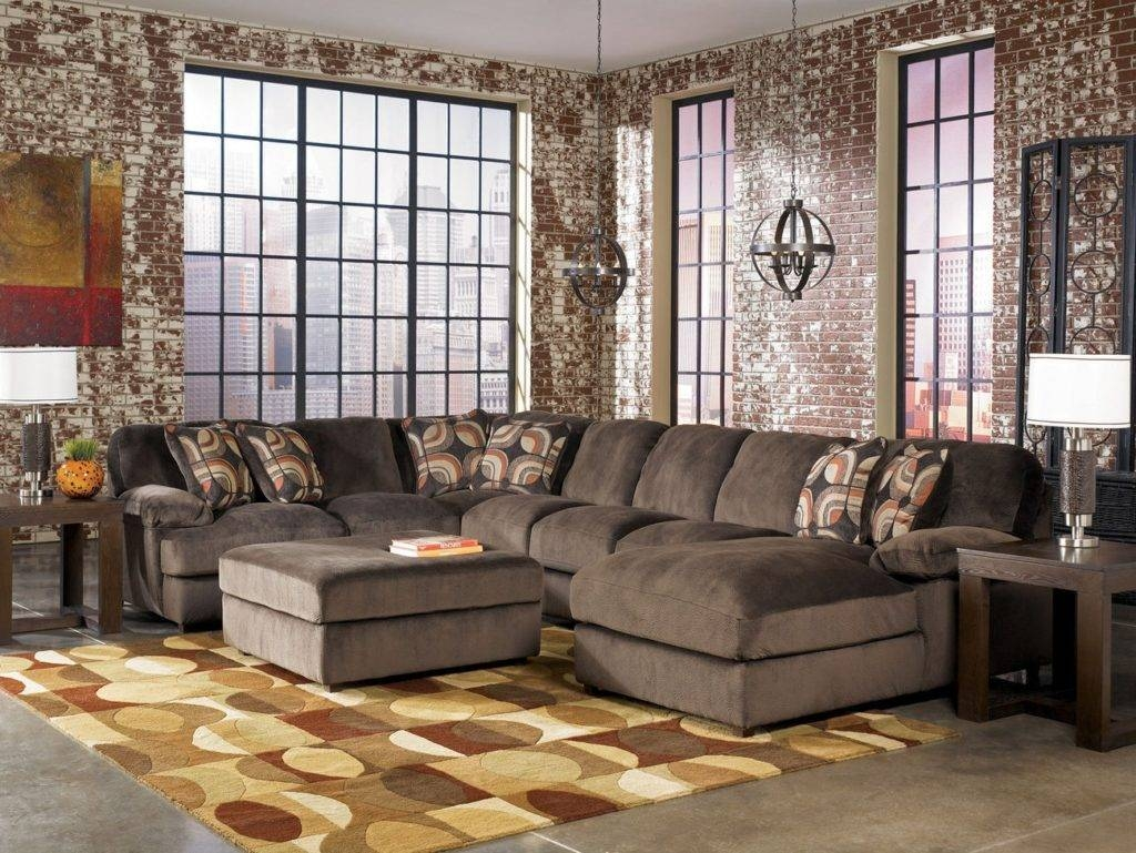 Furniture: Oversized L Shaped Couch | Chaise Sectional Sofa inside Giant Sofas (Image 9 of 15)