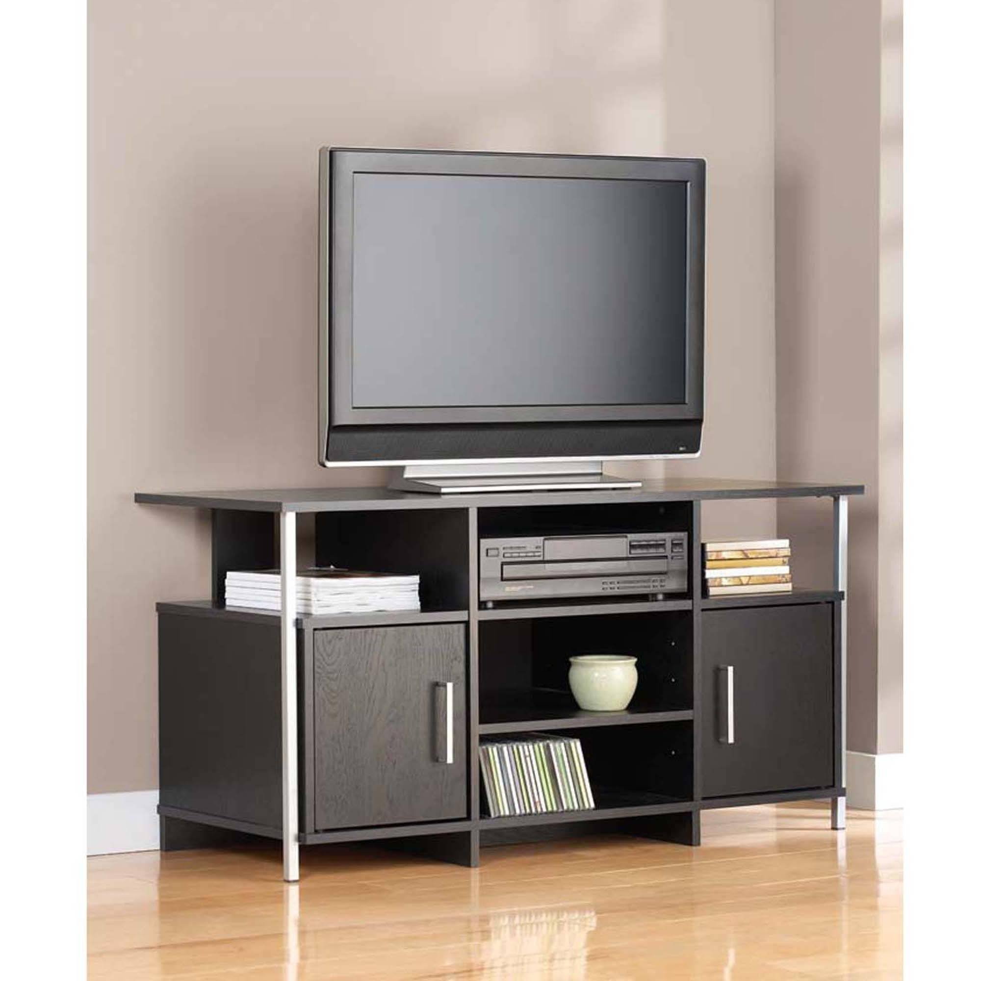 Furniture. Perfect Tv Stands For Flat Screens Design Ideas with Wooden Tv Stands for Flat Screens (Image 6 of 15)