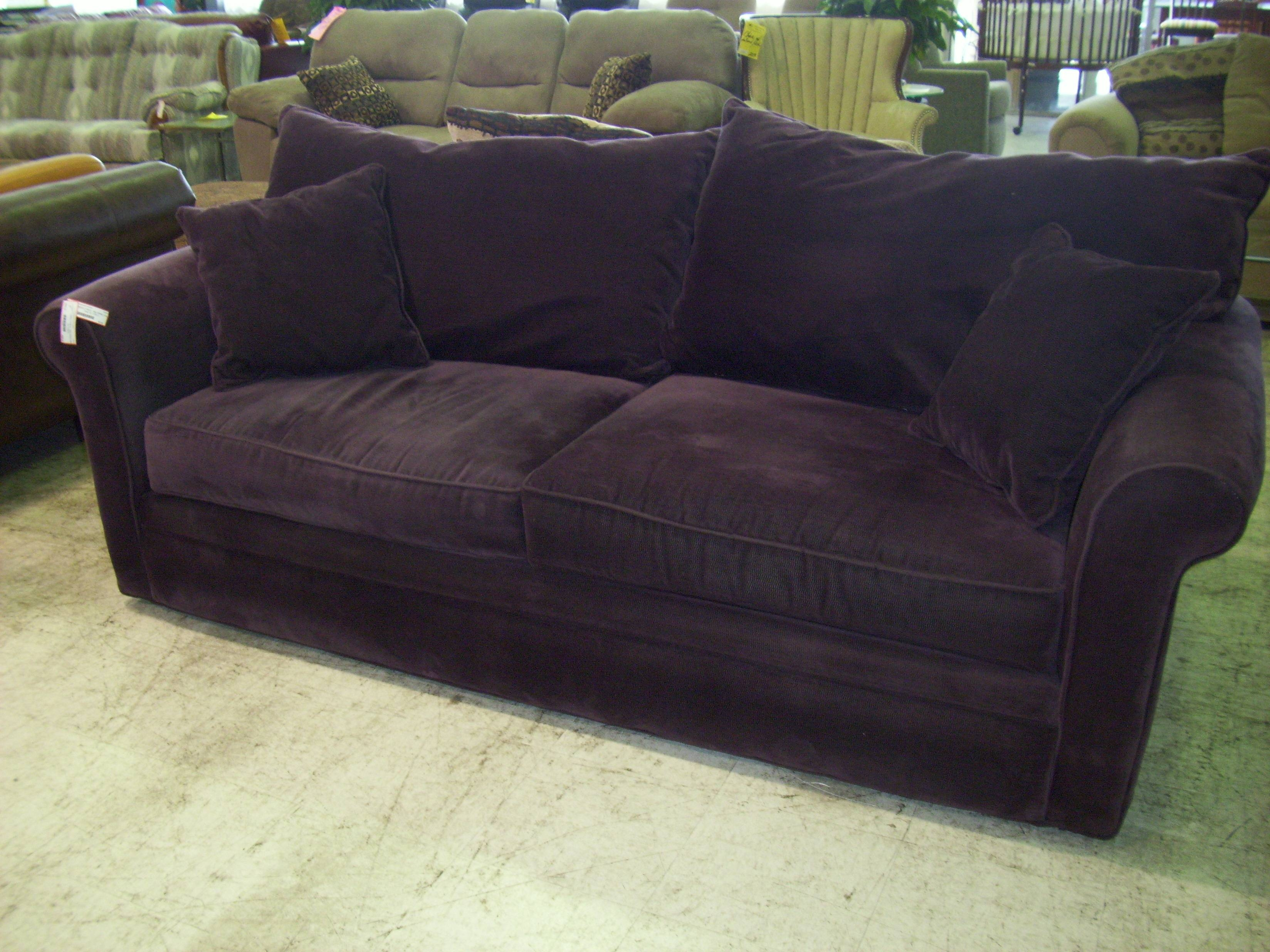 Furniture Purple Loveseat For Contemporary Lifestyle u2014 Threestems regarding Alan White Couches (Image 15 : alan white sectional - Sectionals, Sofas & Couches