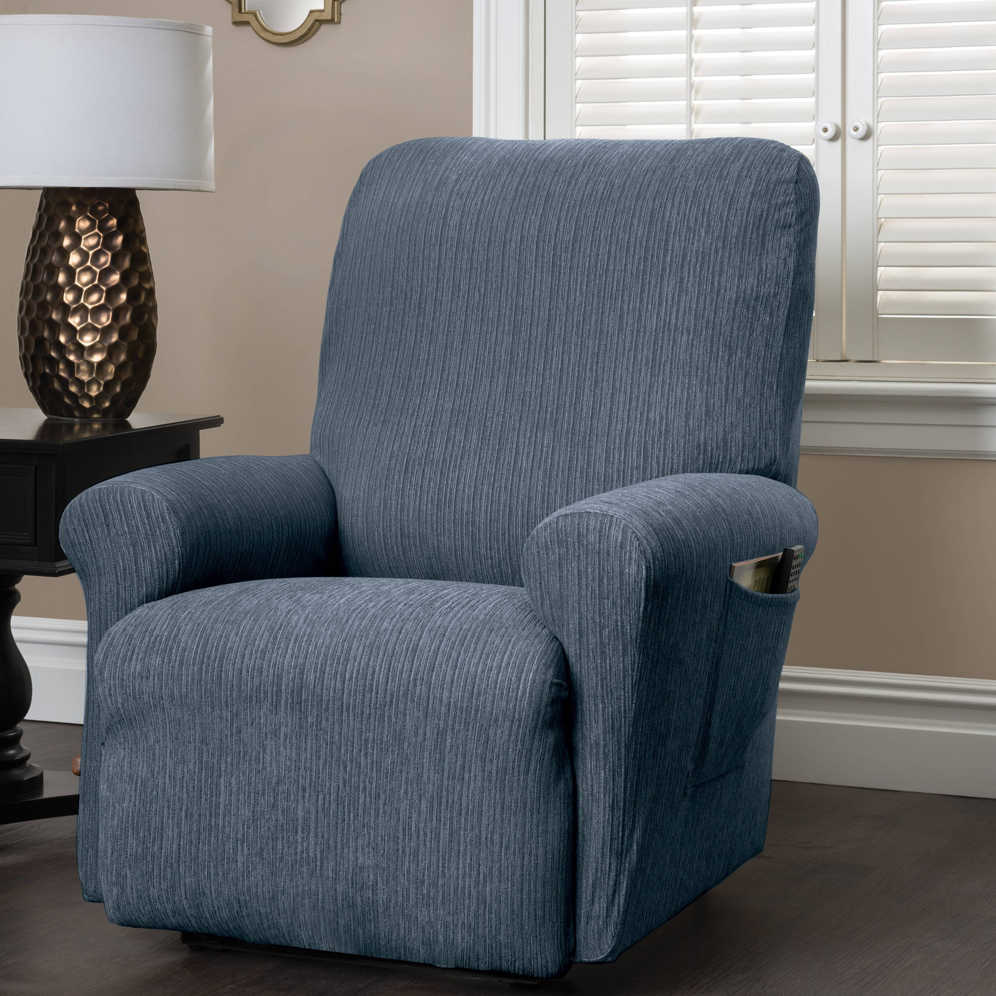 Furniture & Rug: Chic Recliner Covers For Prettier Recliner Ideas With Regard To Stretch Covers For Recliners (View 7 of 15)
