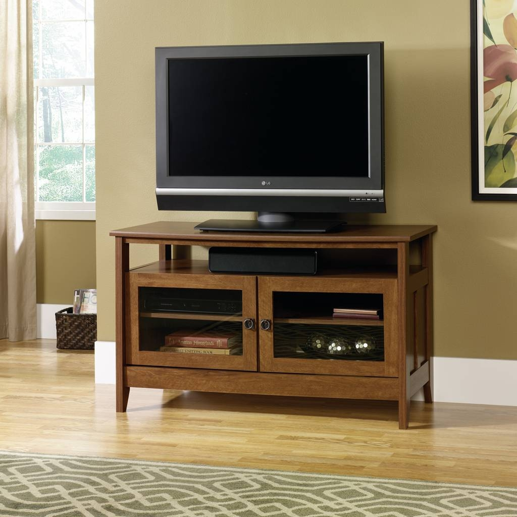 Furniture & Rug: Engaging Sauder Tv Stands For Home Furniture Idea within Cheap Corner Tv Stands For Flat Screen (Image 6 of 15)