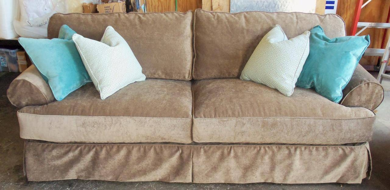 Furniture & Rug: Rowe Furniture Slipcovers | Slipcover Sectional in Rowe Slipcovers (Image 6 of 15)