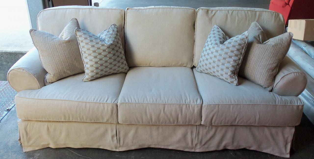 Furniture U0026amp; Rug: Sectional Slipcover | Rowe Furniture Slipcovers  Regarding Rowe Slipcovers (Image