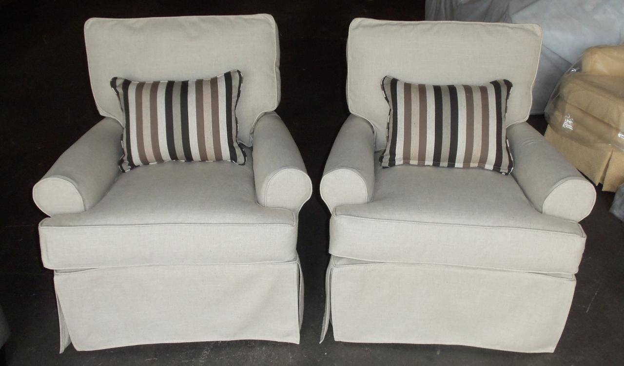 Furniture & Rug: Slipcovered Sofas | Rowe Furniture Slipcovers throughout Rowe Slipcovers (Image 9 of 15)