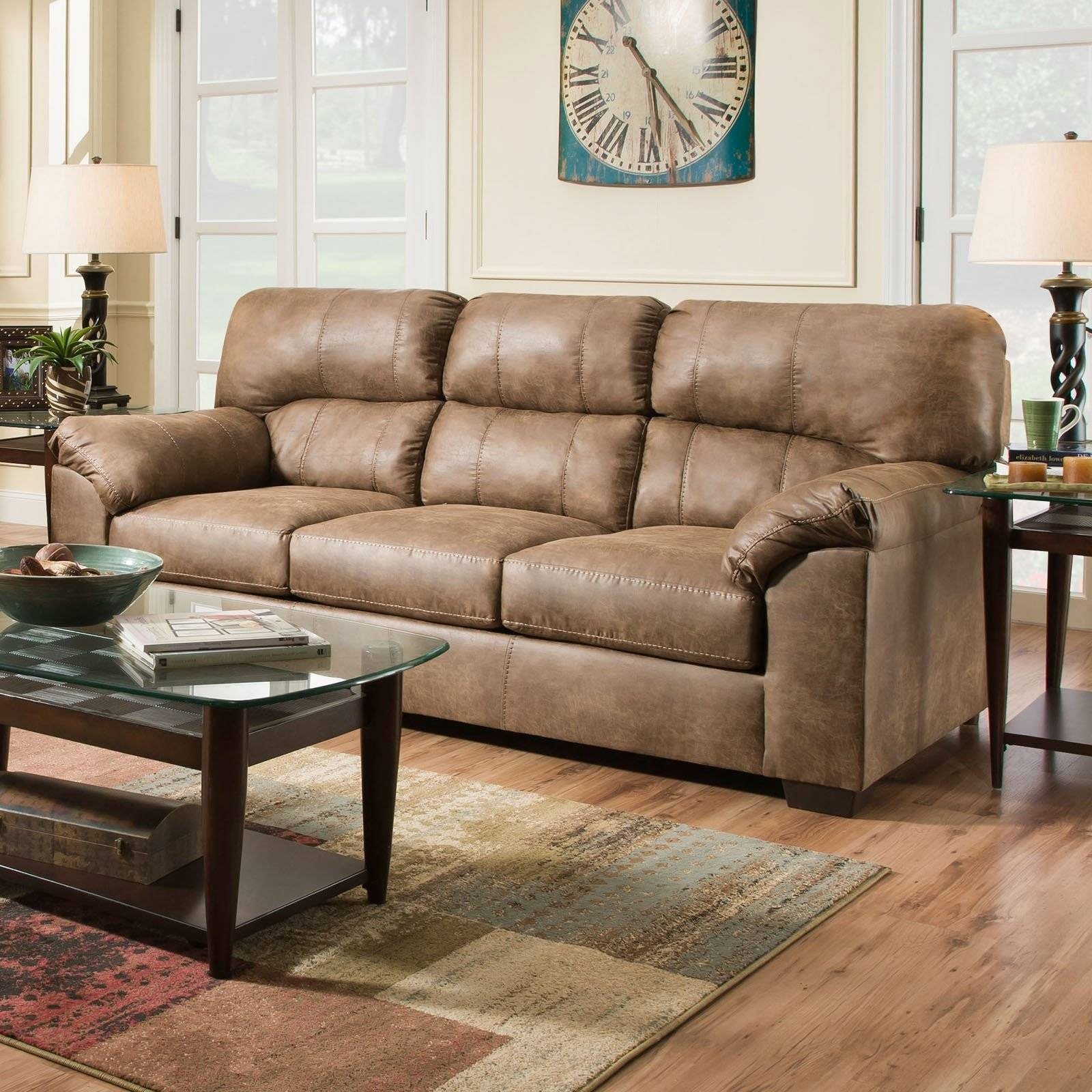Furniture: Simmons Sofa For Comfortable Seating — Threestems inside Big Lots Simmons Furniture (Image 11 of 15)