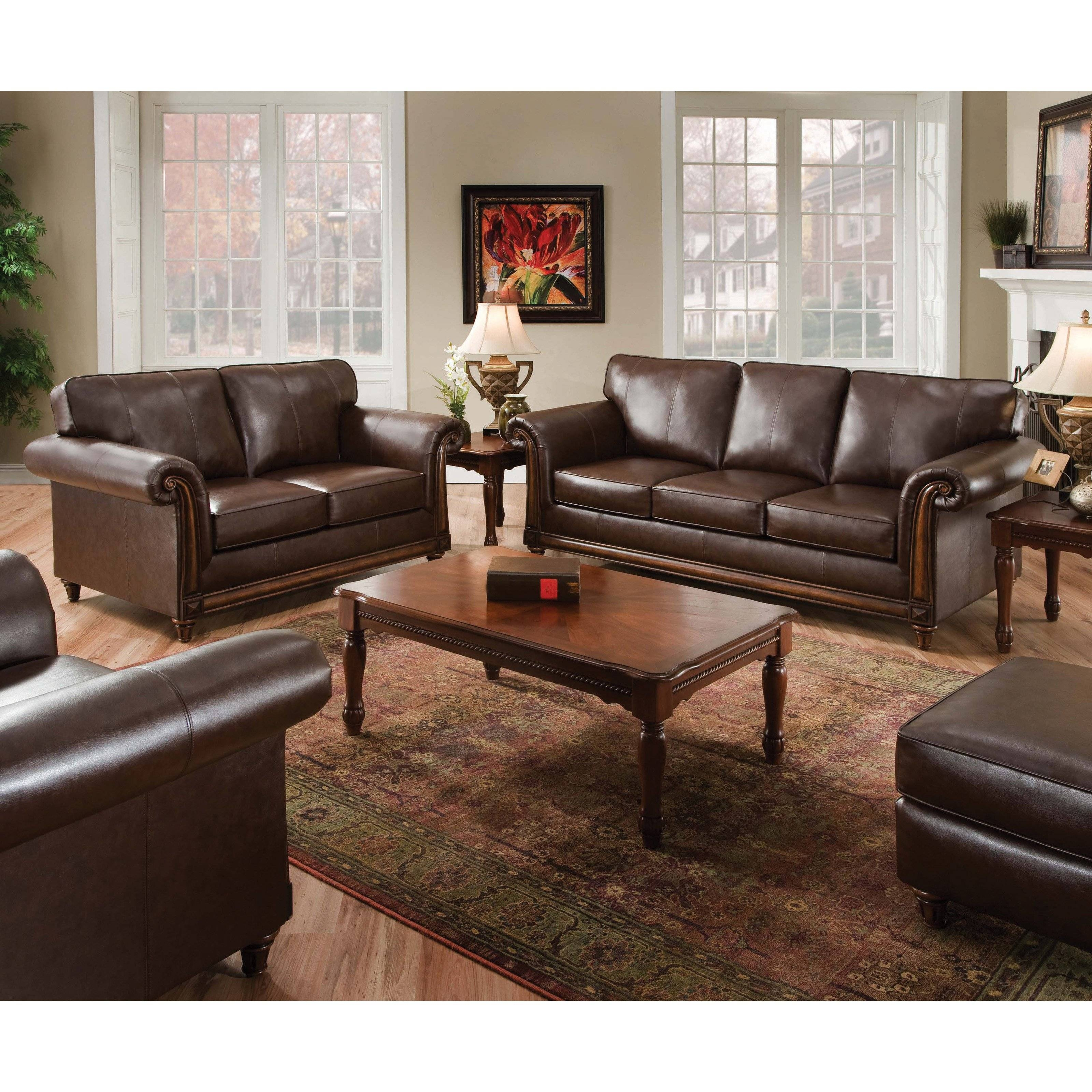 Furniture: Simmons Sofa For Comfortable Seating — Threestems Inside Simmons Leather Sofas And Loveseats (View 9 of 15)