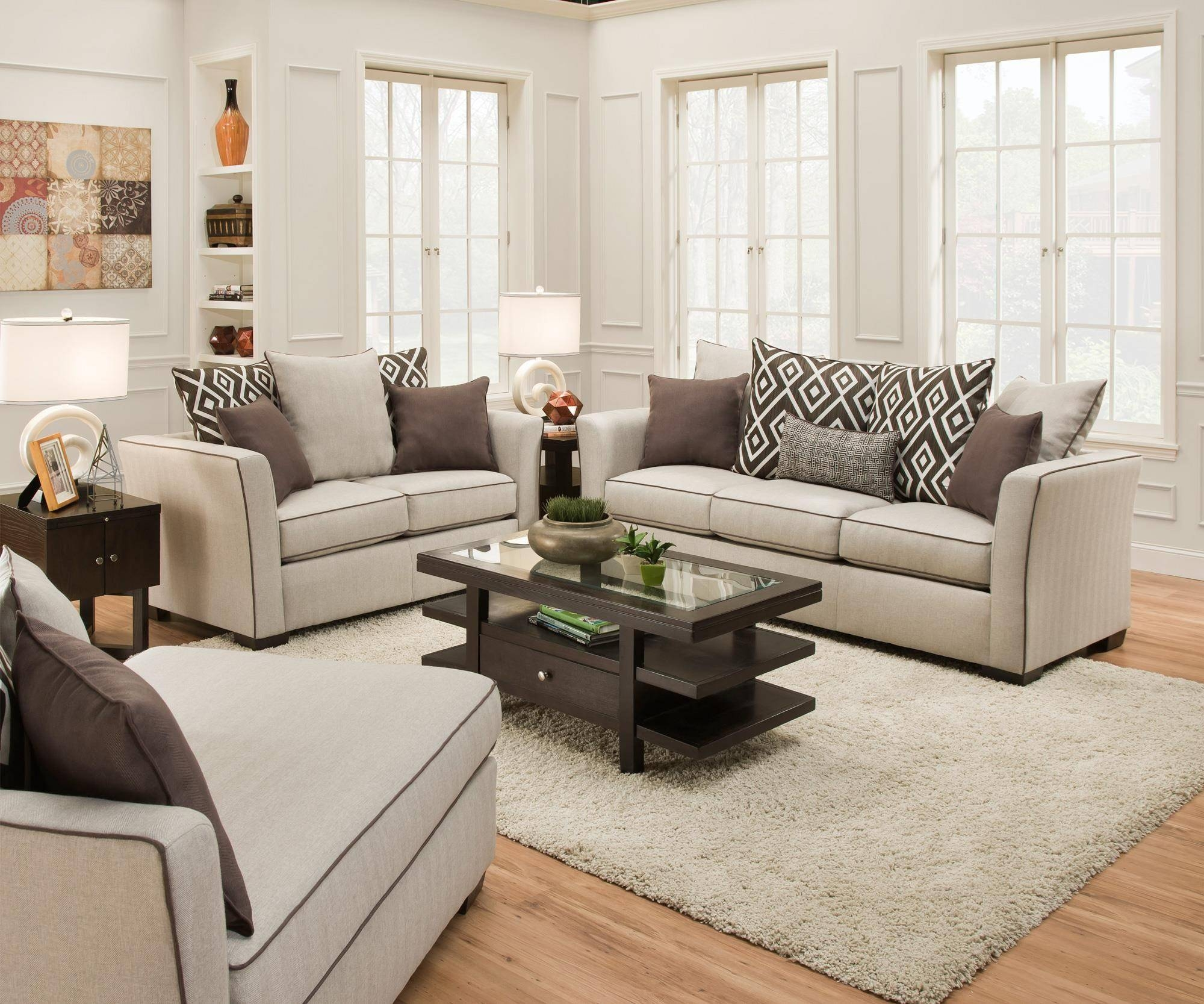 Furniture: Simmons Upholstery For Comfortable Seating — Emdca intended for Simmons Microfiber Sofas (Image 13 of 15)