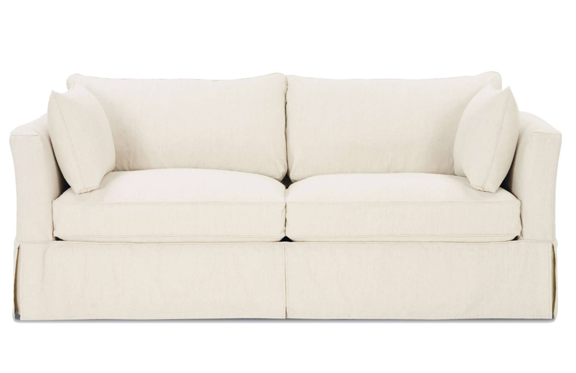 Furniture: Slipcovered Loveseat | Loveseat Slipcovers Kohls for Slip Covers For Love Seats (Image 8 of 15)