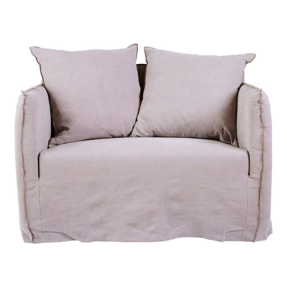 Furniture: Slipcovered Loveseat | Slipcovers For Loveseat With Two Throughout Navy Blue Slipcovers (Photo 13 of 15)