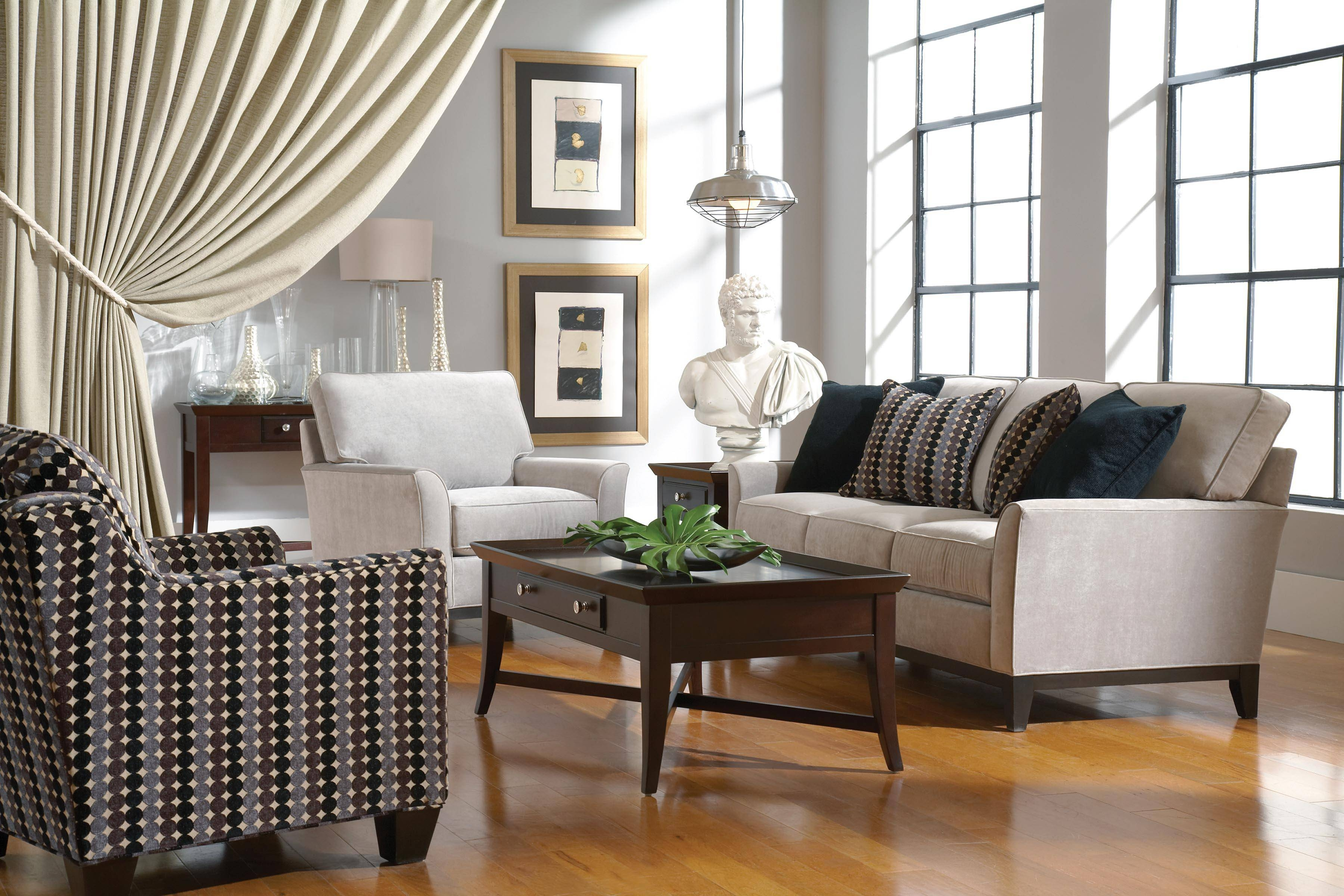 Furniture: Stunning Broyhill Sofas For Enchanting Living Room in Broyhill Harrison Sofas (Image 10 of 15)