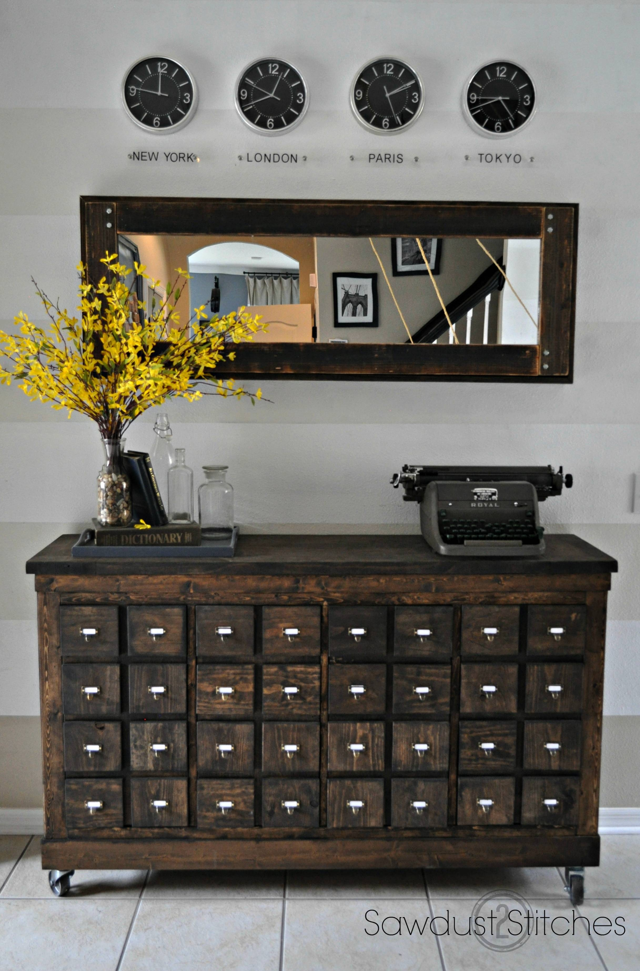 Furniture: Vintage Feel In Your Home With Apothecary Tv Stand With Regard To Vintage Tv Stands For Sale (View 11 of 15)