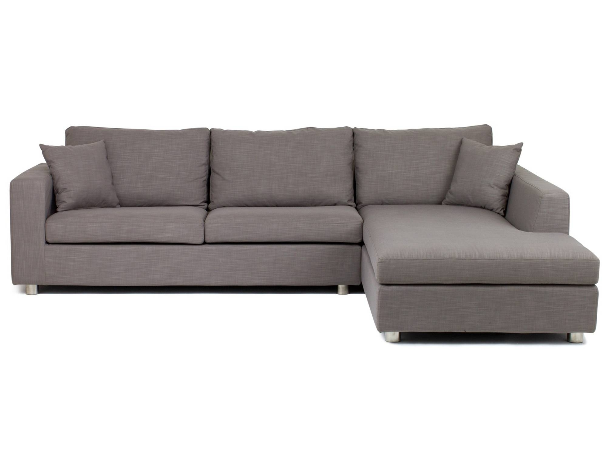 Furniture: Vivacious Chaise Sofa Bed With Softly Bed Foam For with regard to Sofa Beds With Storage Chaise (Image 4 of 15)