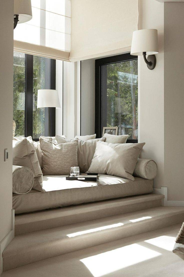 Furniture: Wall Sconces With Round Sofa For Bay Window Also Drum intended for Sofas For Bay Window (Image 10 of 15)