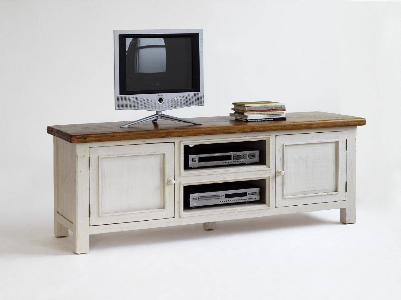 Furniture. Wonderful Design Of Wooden Tv Stands With Mount To for White and Wood Tv Stands (Image 6 of 15)
