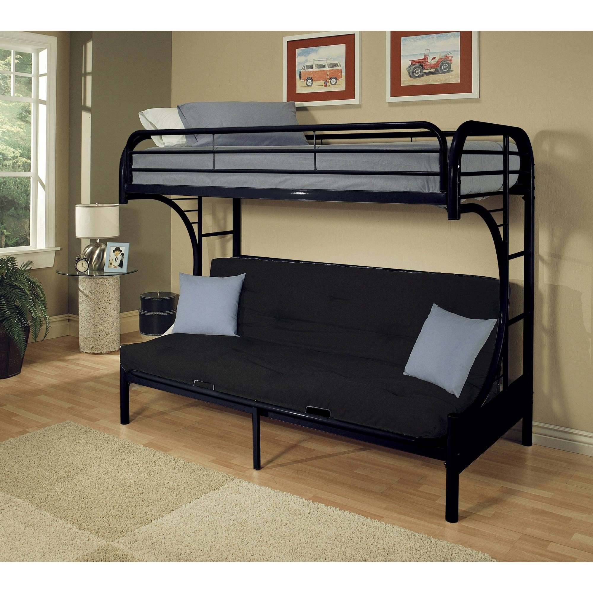 Furniture: Wonderful Walmart Futon Beds With A Simple Folding with regard to Kmart Futon Beds (Image 9 of 15)