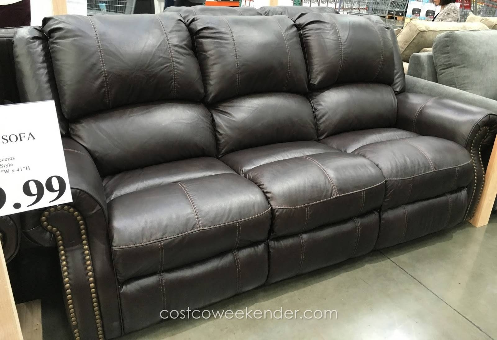 Furnitures: Costco Couch | Leather Sectional Recliner | Reclining inside Costco Leather Sectional Sofas (Image 5 of 15)