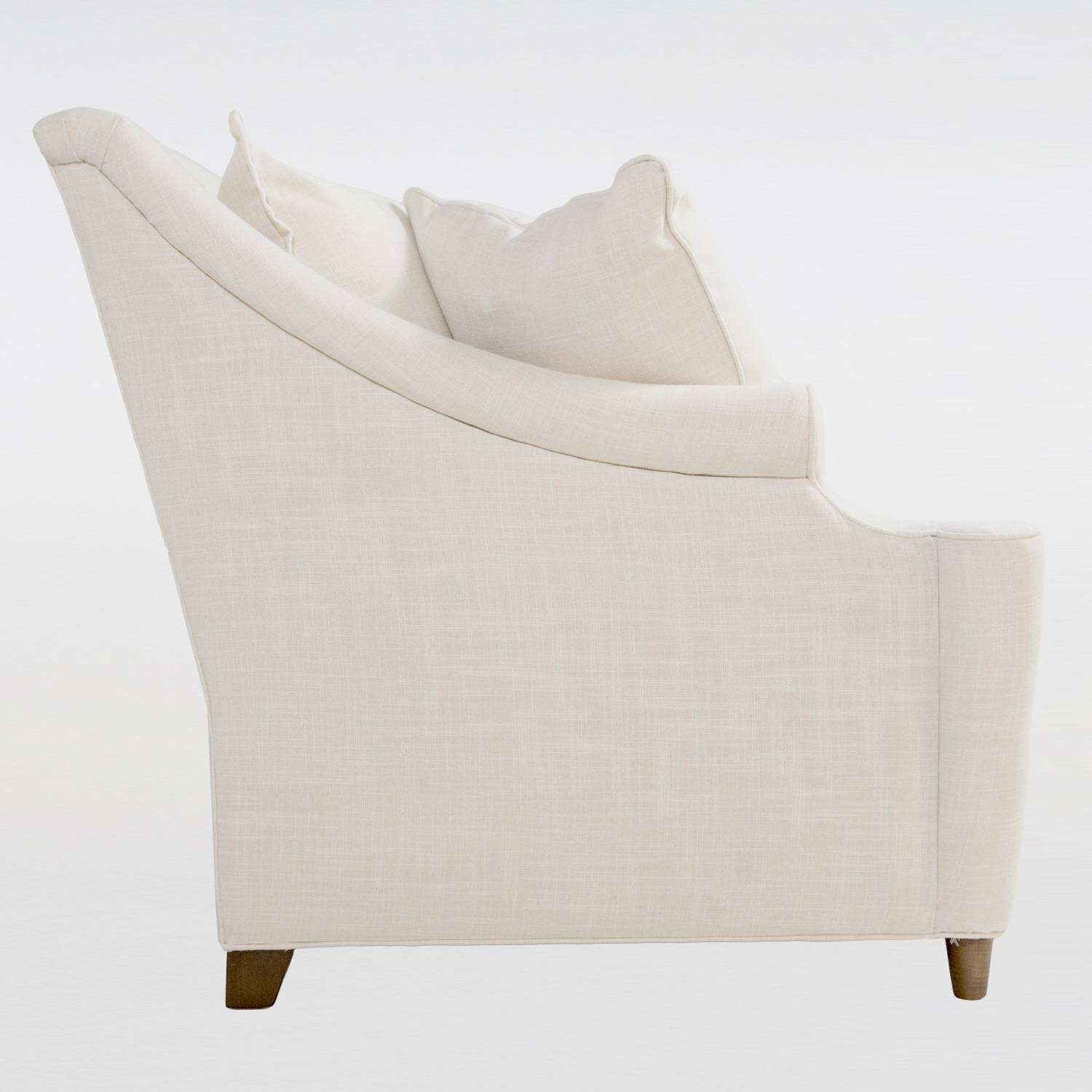 Gabby Furniture Theo Bench Cushion Sofa for Bench Cushion Sofas (Image 4 of 15)