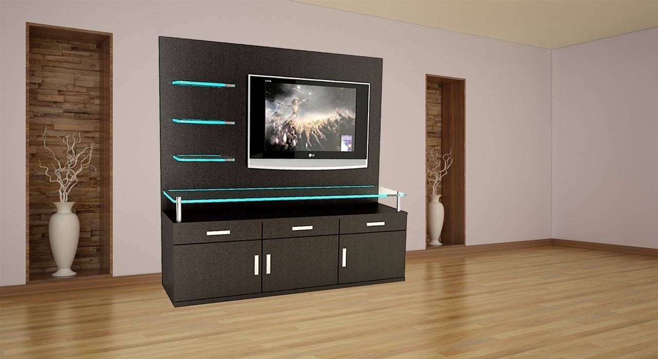 Get Modern Complete Home Interior With 20 Years Durability Regarding Tv Wall Unit (View 3 of 15)