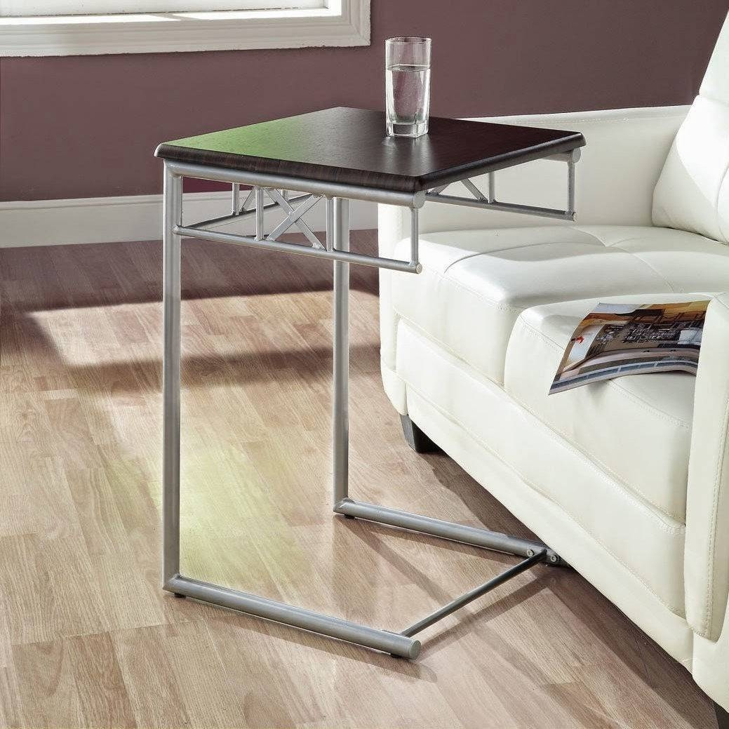 Getting Benefit From Metal Tv Tray Tables At Home Of Including for Under Sofa Tray Tables (Image 3 of 15)