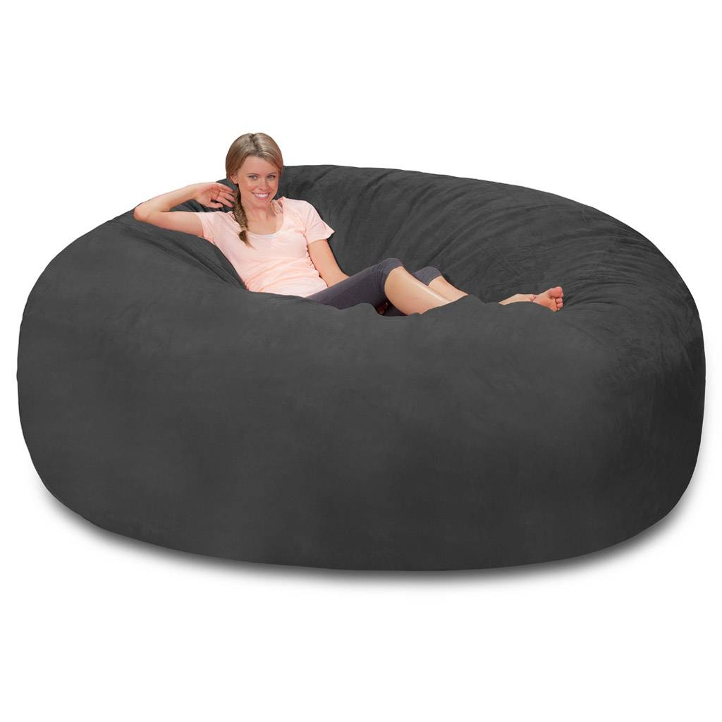 Giant Bean Bag - Huge Bean Bag Chair - Extra Large Bean Bag intended for Giant Bean Bag Chairs (Image 8 of 15)