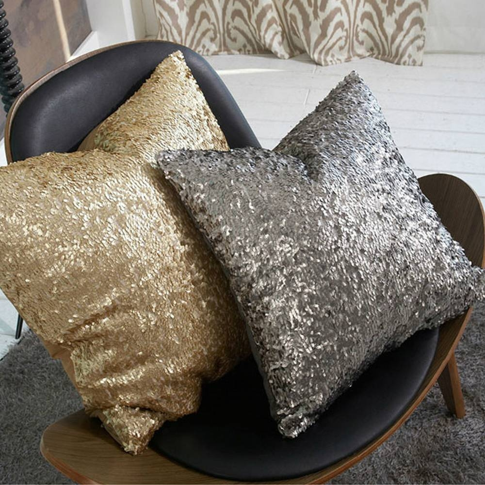 Gold Sofa Pillows 26 With Gold Sofa Pillows | Chunyouyy pertaining to Gold Sofa Pillows (Image 3 of 15)