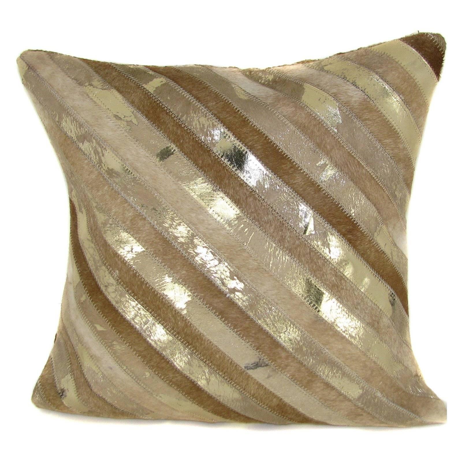 Gold Throw Pillows Ideas : Decorative Gold Throw Pillows – Home regarding Gold Sofa Pillows (Image 6 of 15)