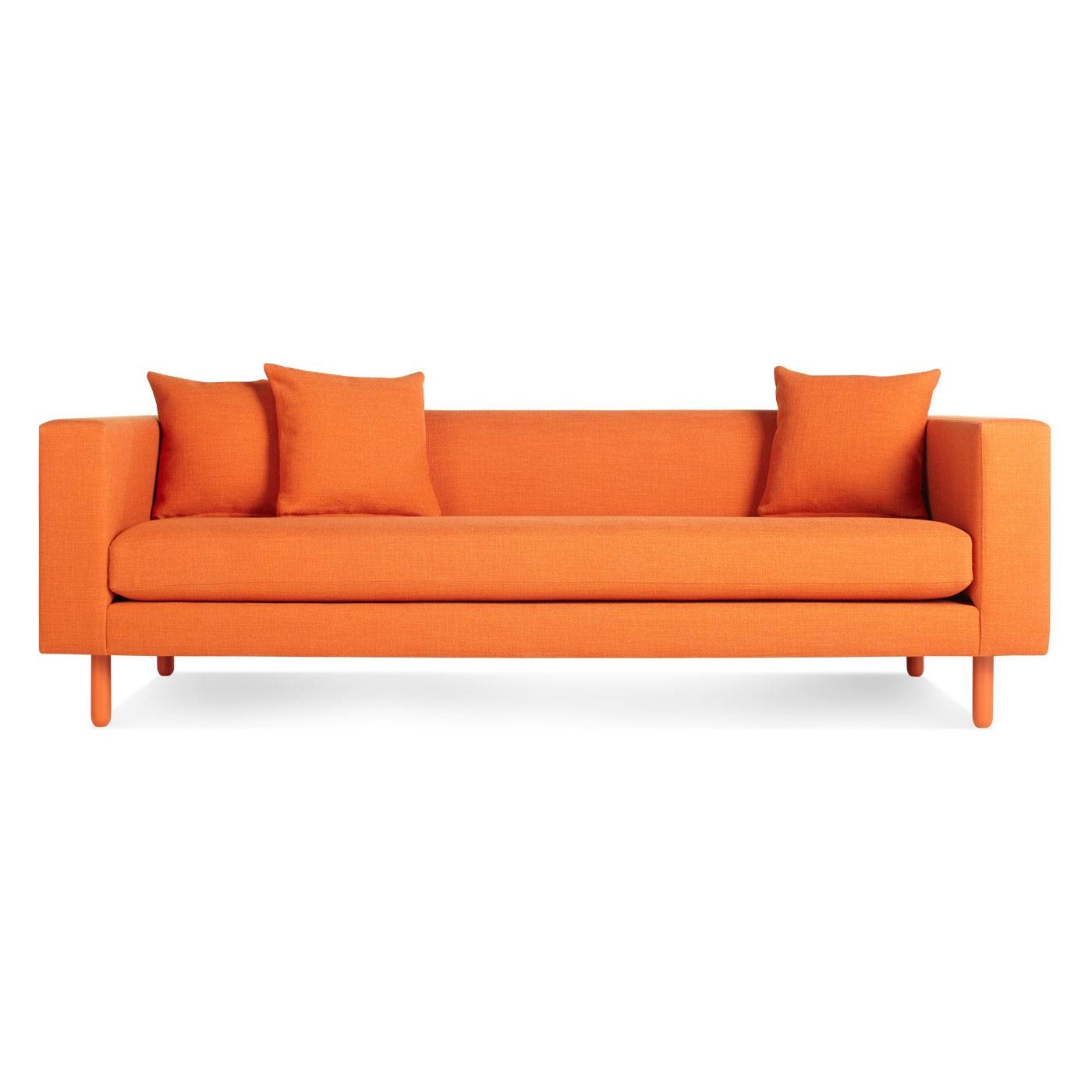 Good Orange Sofa 18 For Your Living Room Sofa Ideas With Orange Sofa pertaining to Orange Modern Sofas (Image 8 of 15)
