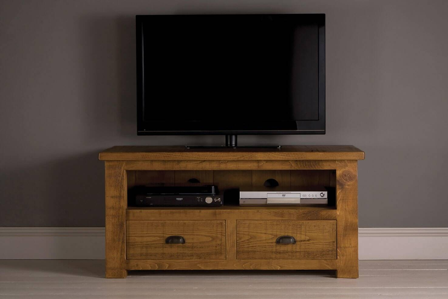 Grand Plank Tv Cabinet With Drawersindigo Furniture For Tv Cabinets (View 2 of 15)