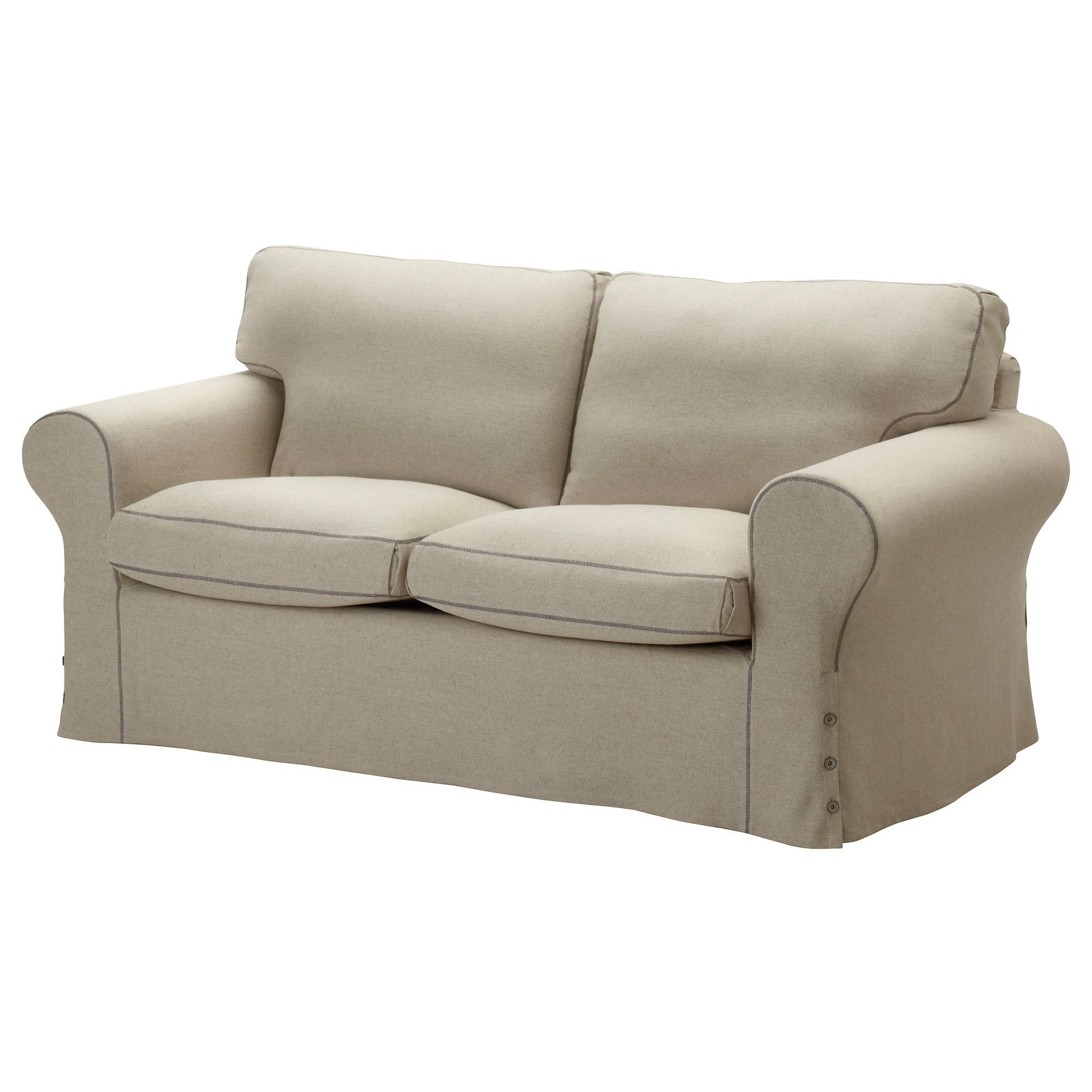 Gray Color Slipcovers For Loveseat With Two And T Cushions For throughout Loveseat Slipcovers T-Cushion (Image 10 of 15)